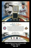 2005 Artifacts Dual Artifacts #RB