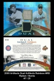 2005 Artifacts Dual Artifacts Rainbow #RB