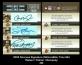 2005 Donruss Signature INKcredible Trios #44
