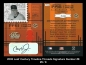 2005 Leaf Century Timeline Threads Signature Number #8