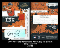 2005-Absolute-Memorabilia-Absolutely-Ink-Single-Swatch-AI109