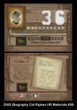 2005 Biography Cal Ripken HR Materials #36