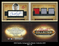 2005 Skybox Autographics Master Collection #CR
