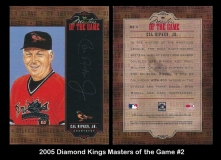 2005 Diamond Kings Masters of the Game #2