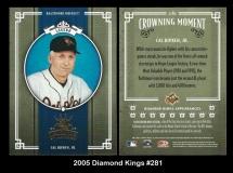 2005 Diamond Kings #281