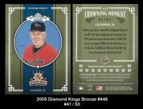2005 Diamond Kings Bronze #448