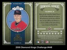 2005 Diamond Kings Challenge #448