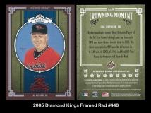 2005 Diamond Kings Framed Red #448