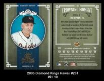 2005 Diamond Kings Hawaii #281