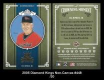 2005 Diamond Kings Non-Canvas #448