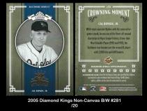 2005 Diamond Kings Non-Canvas BW #281