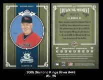 2005 Diamond Kings Silver #448