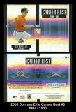 2005 Donruss Elite Career Best #8