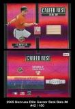 2005 Donruss Elite Career Best Bats #8