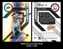 2005 Donruss Elite #153