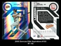 2005 Donruss Elite Aspirations #153