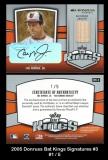 2005 Donruss Bat Kings Signatures #3