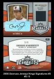 2005 Donruss Jersey Kings Signatures #3