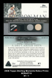 2006-Topps-Sterling-Moments-Relics-Prime-CRHIT10