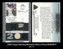 2006-Topps-Sterling-Moments-Relics-Prime-CRHR10
