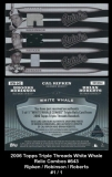 2006 Topps Triple Threads White Whale Relic Combos #643