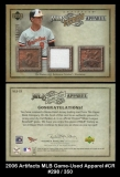 2006 Artifacts MLB Game-Used Apparel #CR
