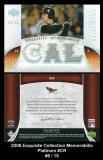2006 Exquisite Collection Memorabilia Platinum #CR