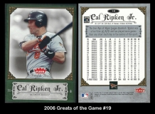 2006 Greats of the Game #19