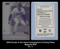 2006-Greats-of-the-Game-Autographics-Printing-Plates-Magenta-CR
