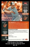 2006 Greats of the Game Decade Greats Autograph #CR