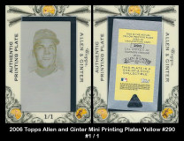 2006-Topps-Allen-and-Ginter-Mini-Printing-Plates-Yellow-290
