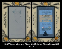 2006-Topps-Allen-and-Ginter-Mini-Printings-Plates-Cyan-355