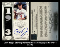 2006-Topps-Sterling-Moments-Relics-Autographs-CRAS11