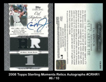 2006-Topps-Sterling-Moments-Relics-Autographs-CRHR1