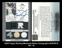 2006-Topps-Sterling-Moments-Relics-Autographs-CRHR18