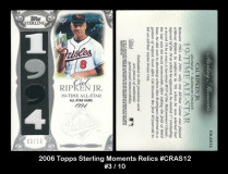 2006-Topps-Sterling-Moments-Relics-CRAS12