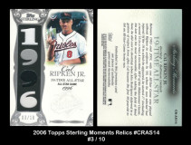 2006-Topps-Sterling-Moments-Relics-CRAS14