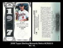 2006-Topps-Sterling-Moments-Relics-CRAS15