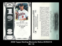 2006-Topps-Sterling-Moments-Relics-CRAS16