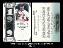 2006-Topps-Sterling-Moments-Relics-CRAS17