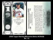2006-Topps-Sterling-Moments-Relics-CRAS8