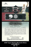 2006-Topps-Sterling-Moments-Relics-CRGAME10