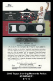 2006-Topps-Sterling-Moments-Relics-CRGAME11