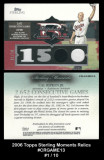 2006-Topps-Sterling-Moments-Relics-CRGAME13