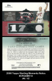 2006-Topps-Sterling-Moments-Relics-CRGAME14