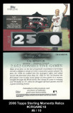 2006-Topps-Sterling-Moments-Relics-CRGAME18