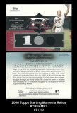 2006-Topps-Sterling-Moments-Relics-CRGAME2