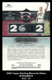 2006-Topps-Sterling-Moments-Relics-CRGAME20