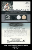 2006-Topps-Sterling-Moments-Relics-CRHIT14