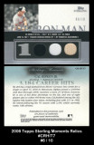 2006-Topps-Sterling-Moments-Relics-CRHIT7